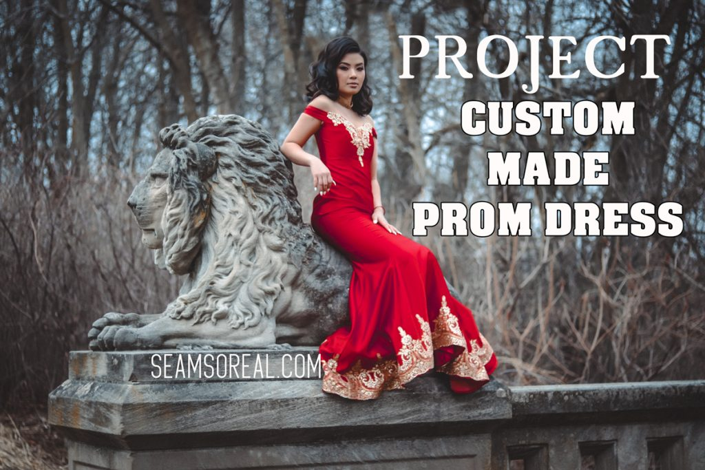 Custom Made Dress
